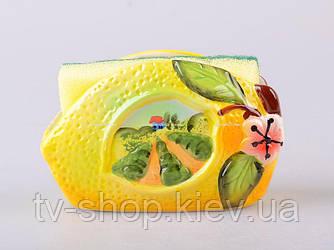 Подставка под губку Лимон
