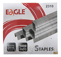 """Скобы для степлера """"Eagle"""" № 23/10, 1000 шт."""