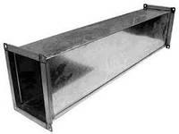 Воздуховод прямоугольный 100х100 из оцинкованной стали 0,5 мм