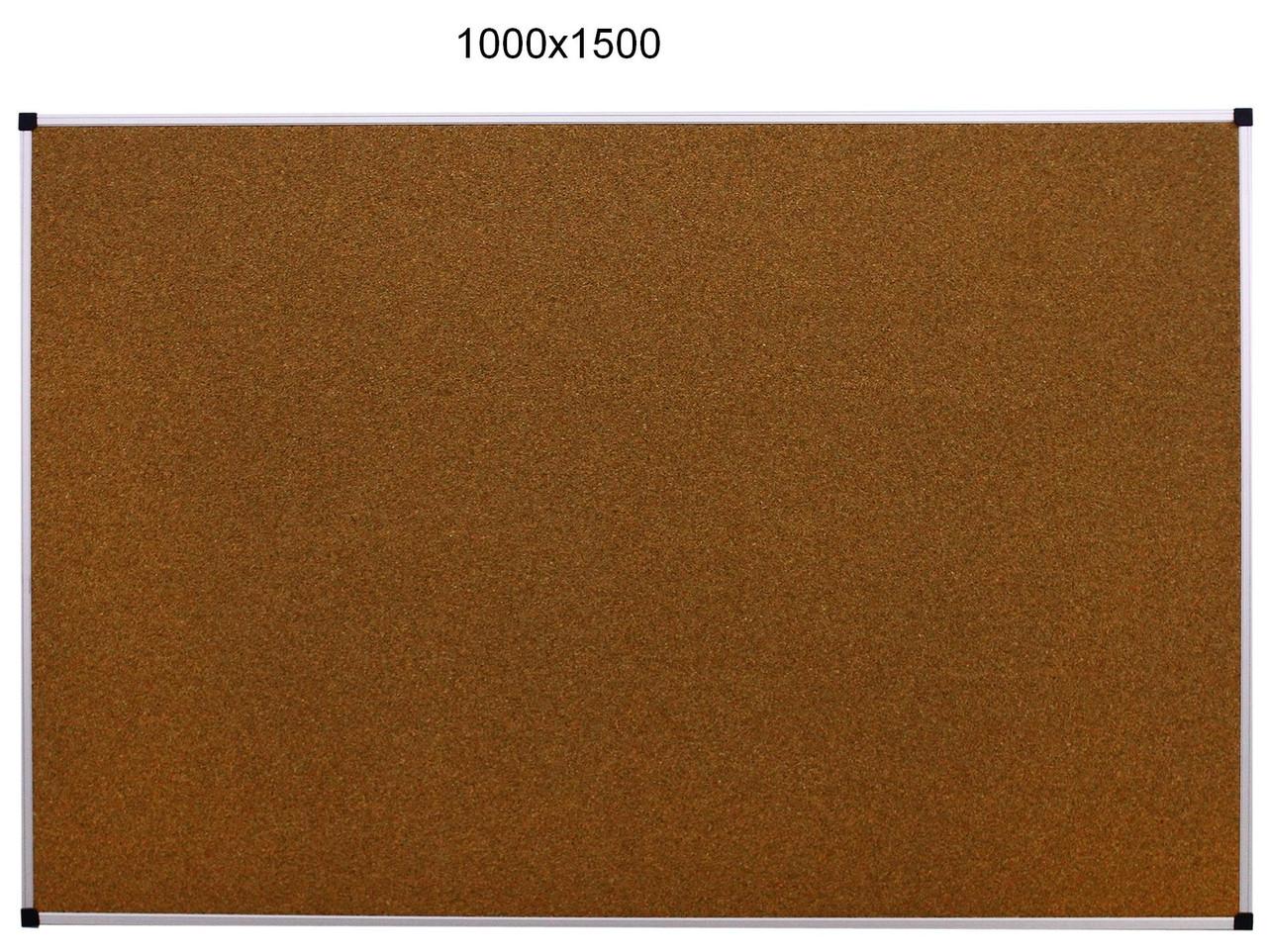 Доска пробковая для объявлений в деревянной раме 1000х1500 работа в стаханове объявления