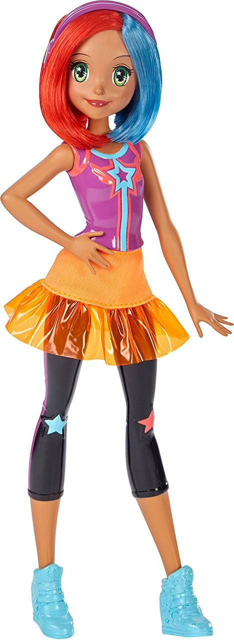 Barbie Video Game Hero Multi-Color Hair Doll