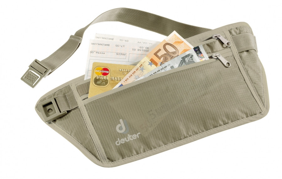 Deuter Security Money Belt серый (39230-6102)