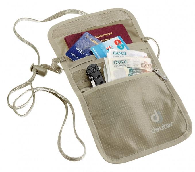 Deuter Security Wallet II серый (39210-6102)