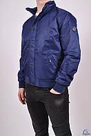 Куртка мужская демисезонная из полиэстера (цв.сапфир) 7490 Размер:48,50,52,54,56