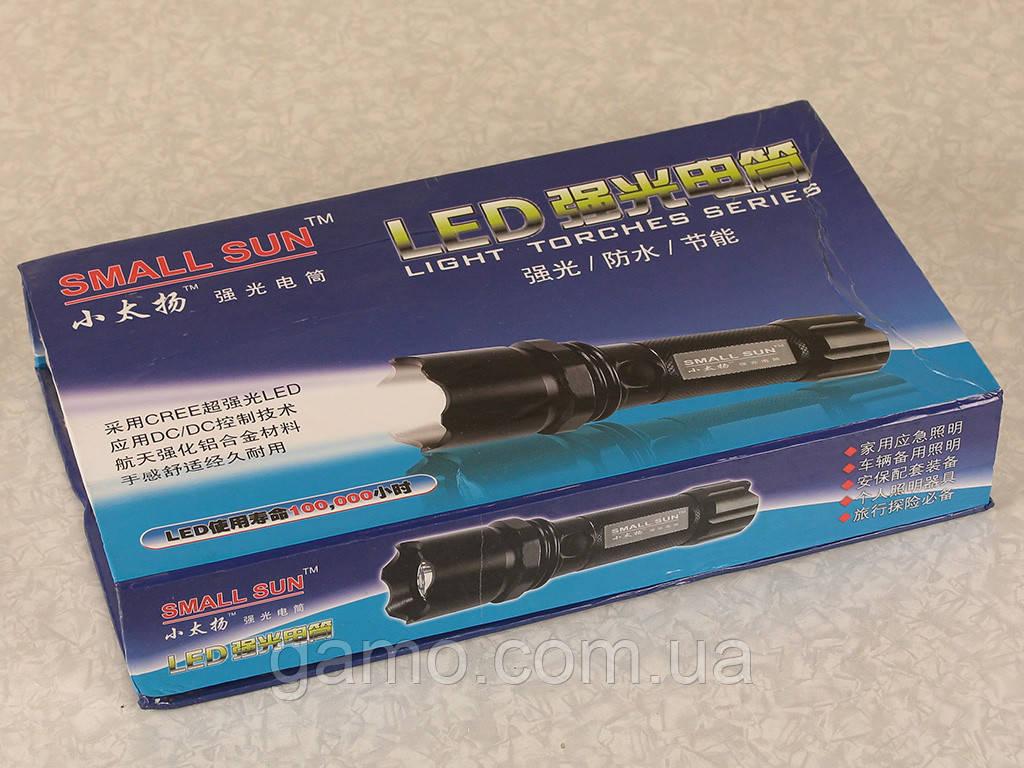 Сверхяркий фонарь CREE с аккумулятором и зарядным