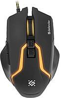 Проводная игровая мышь Defender Warhead GM-1750 оптика,7 кнопок,1200-3200dpi