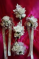 Свадебные бутоньерки, фото 1
