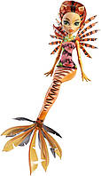 Монстер хай кукла Торалей Страйп из серии Большой Кошмарный Риф, Great Scarrier Reef Glowsome Ghoulfish Torale