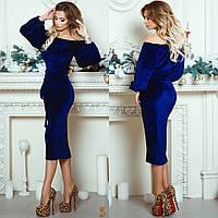 Платье бархаток