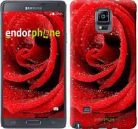 """Чехол на Samsung Galaxy Note 4 N910H Красная роза """"529c-64"""""""