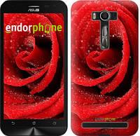 "Чехол на Asus ZenFone 2 Laser ZE500KL Красная роза ""529c-113"""