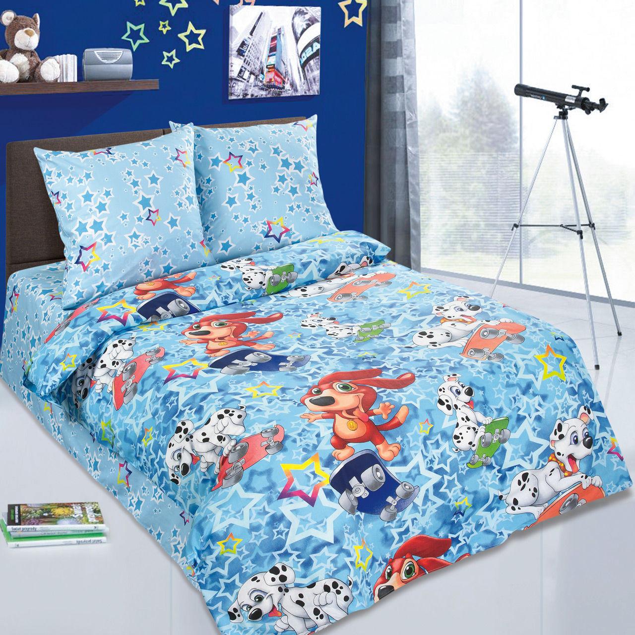 Детский постельный комплект «Скейтборд», KidsDreams
