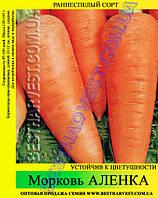 Семена моркови Аленка 25 кг (мешок), раннеспелый сорт
