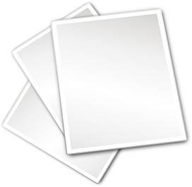 Бумага форматная белая