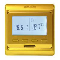 Терморегулятор для теплого пола Heat Plus M6.716 gold