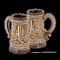 Бокал глиняный Украинский IA1225 Покутская керамика