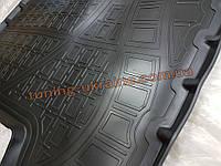Коврик в багажник из мягкого ABS пластика NorPlast на Renault Captur 2014 4AWD
