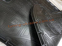 Коврик в багажник из мягкого полиуретана NorPlast на Porsche Cayenne 957 2007-2010 бежевый