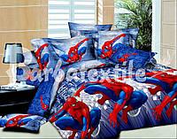 Комплект детского постельного белья подростковый Спайдермен(Человек Паук)