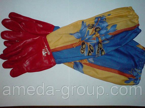 Перчатки резиновые, фото 2