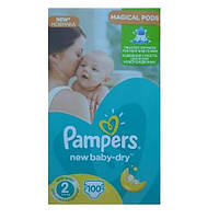 Подгузники Pampers Active Baby 2 mini 3-6 кг (100 шт)