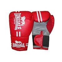 Перчатки для бокса LONSDALE размеры с/м, л/хл черный, красный