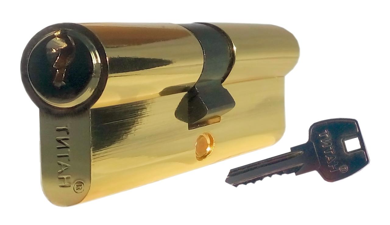 Цилиндровый механизм ТИТАН 60(30*30) PB
