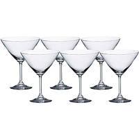 Набор бокалов Bohemia Lara для мартини 6 шт. (210 мл)