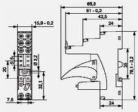 Контактная колодка GZM80
