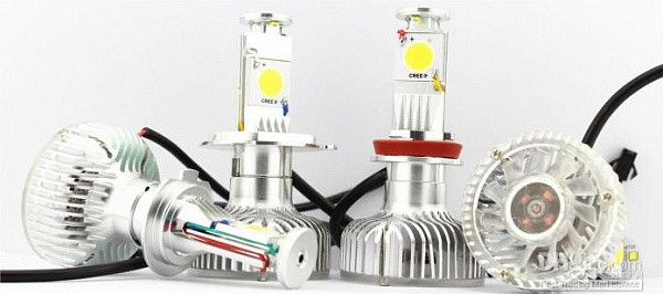 Светодиодные лампы главного света