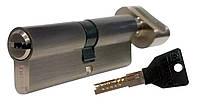 Цилиндровый механизм ТИТАН M60(30*30)-C SN ключ-поворотник