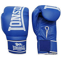 Перчатки для бокса Lonsdale Challenger красные, синие вес 12,14,16 унций