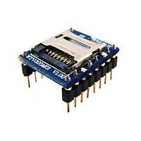Звуковой модуль, MicroSD аудио плеер, для Arduino