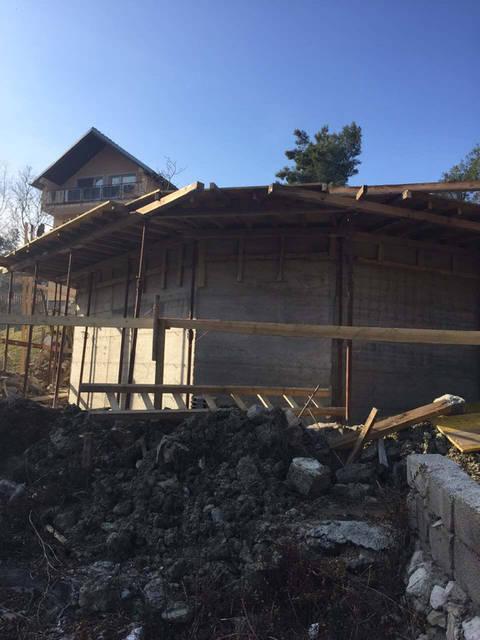 Фундамент купольного дома