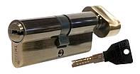 Цилиндровый механизм ТИТАН M60(30*30)-C АВ ключ-поворотник