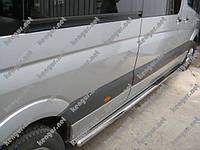 Пороги боковые, защитные дуги (трубы B2) Volkswagen Crafter (длинная база)