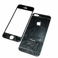 Защитная пленка Стекло Prizma 3D iPhone 6 (переднее и заднее) черное