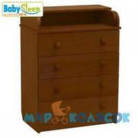 Комод BABY SLEEP Stela (DKK-C) (nussbaum dunkel)
