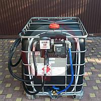 Топливо-заправочный модуль на базе еврокуба