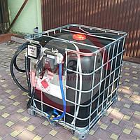 Топливо-заправочный модуль на базе еврокуба 1