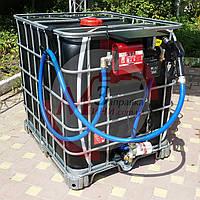 Топливо-заправочный модуль на базе еврокуба 4