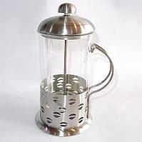Чайник френч пресс Frico FRU-329, 1000 мл, съемная стеклянная колба, основа из нержавеющей стали, фильтр