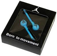 Наушники Nike Jordan blue вакуумные