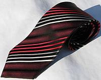 Красный шелковый немецкий галстук Schönau - 152