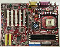 Материнская плата MSI 845 Ultra, s478, б\у