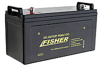 Гелевый  аккумулятор Fisher 120 Aч