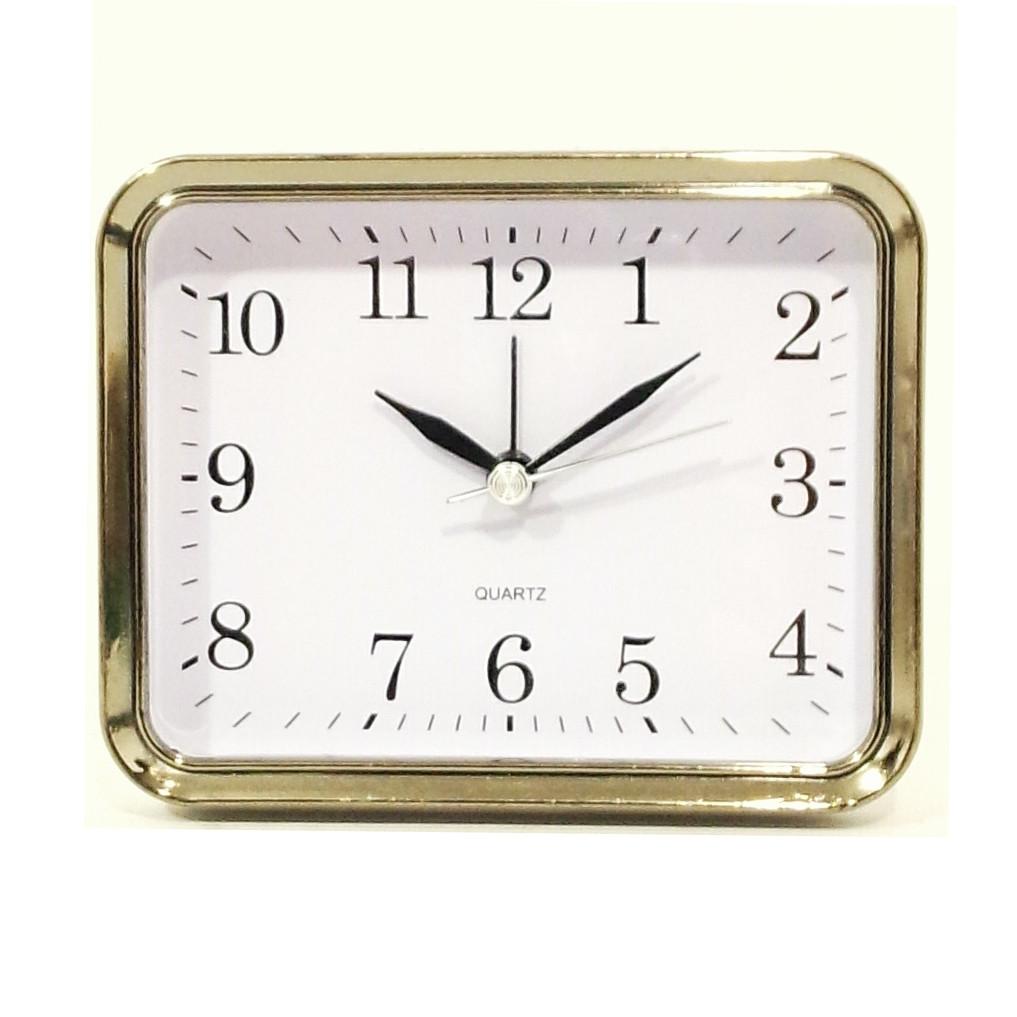 Будильник №0035 часы настольные с подсветкой (черный)