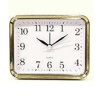 Будильник №0035 часы настольные с подсветкой (черный), фото 1