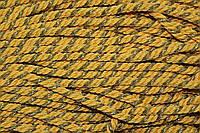 Канат декоративный 10мм (50м) желтый+золото , фото 1