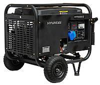 Однофазный бензиновый генератор HYUNDAI HY9000SЕ (6.5 кВт)